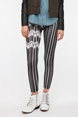 BDG Textured Stripe High-Rise Legging