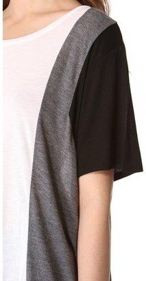 DKNY Colorblock Short Sleeve Tee