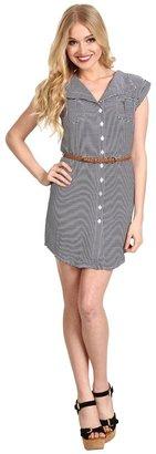 BB Dakota Adrienne Dress (Navy/White) - Apparel