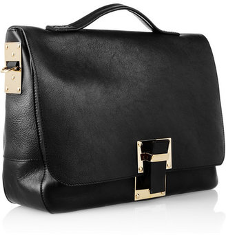 Sophie Hulme Leather satchel