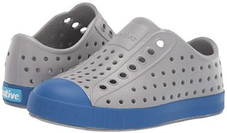 Native Jefferson (Toddler/Little Kid) (Pigeon Grey/Victoria Blue) Kids Shoes