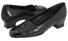 Magdesians Shell (Black Kid/Black Patent) - Footwear