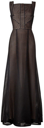 Elie Saab Fantasy Fabric Floor-Length Gown