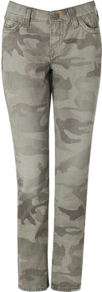 True Religion Jeans in Army Green Camo