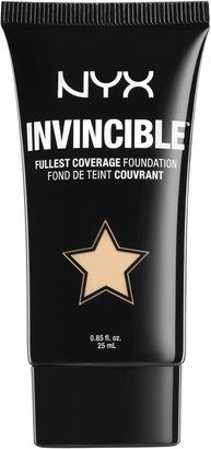Nyx Cosmetics Invincible Fullest Coverage Foundation $11.99 thestylecure.com