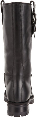 Dolce & Gabbana Lined Buckle-Tab Boot