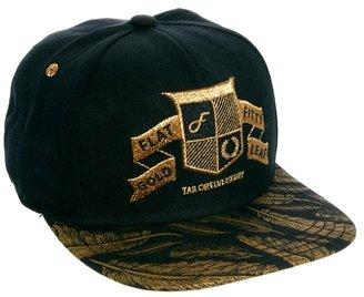 Flat Fitty Gold Leaf Snapback Cap