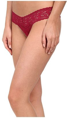 Hanky Panky Signature Lace Low Rise Thong (Bliss Pink) Women's Underwear
