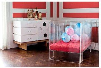 Nurseryworks Nursery Works Vetro Crib- Clear Acrylic