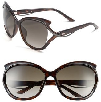 Christian Dior 'Audacieuse' 59mm Butterfly Sunglasses