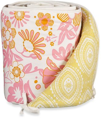 Lolli LivingTM by Living Textiles Baby Mix & Match Crib Bumper in Whimsy Pink/Damask