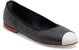 Brooks Brothers Captoe Ballet Flat