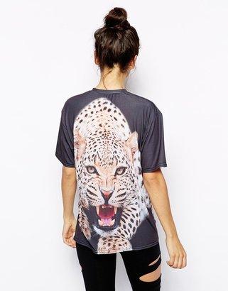 Mr Gugu & Miss Go Mr. Gugu & Miss Go Leopard T-Shirt