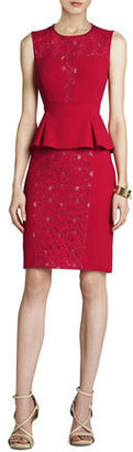 BCBGMAXAZRIA Ives Lace Tiered Dress