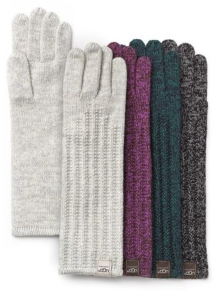 UGG Ribbed Cuff Gloves