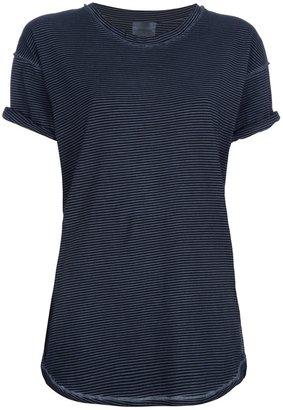 Laurence Dolige 'Olive' striped t-shirt