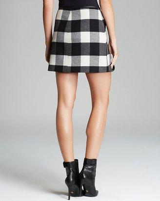 Karen Millen Plaid Collection Skirt - Bloomingdale's Exclusive