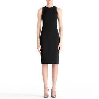 Rachel Roy Crepe Sleeveless Dress