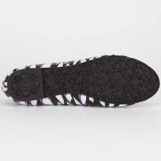 Iron Fist Timmy Chew Womens Flats