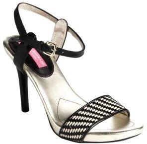 Isaac Mizrahi NEW YORK Belle Leather Platform Sandals