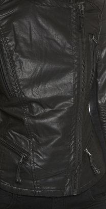 Blank Vegan Moto Jacket