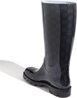 Gucci Women's 'Edimburg Gg' Rain Boot