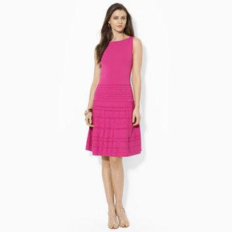 Ralph Lauren Sleeveless Pointelle Dress