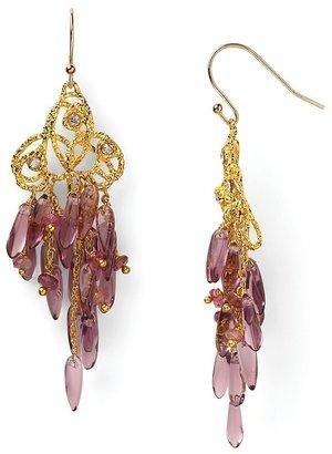 Alexis Bittar Floral Cluster Earrings