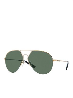 DKNY Metal Angular Aviator
