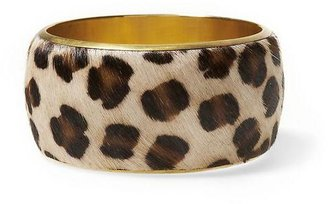 Rachel Roy Sabine Faux Leopard Hair Bangle