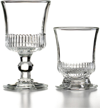 French Home La Rochère Glassware, Set of 6 Richealeau Goblets