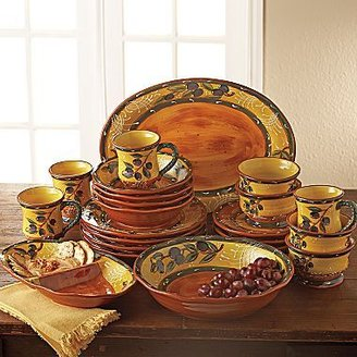 JCPenney French Olive Dinnerware