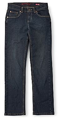 Arizona Dark-Rinse Straight-Leg Jeans - Girls 4-16