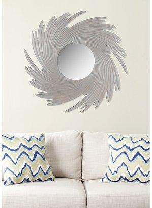 "Safavieh Art Nouveau Wave Grey 36-inch Decorative Mirror - 36"" x 0.8"" x 36"""