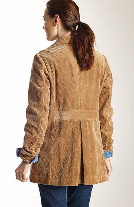 J. Jill Heritage tumbled cord jacket
