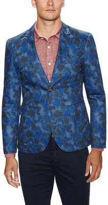 Camo Cotton Sportcoat