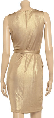 ALICE by Temperley River metallic stretch-jersey dress