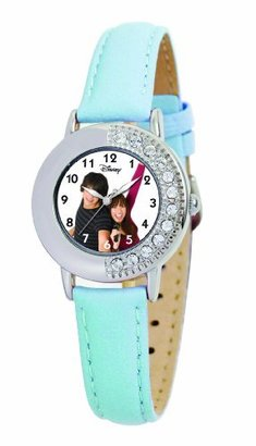 Disney Kids' D653S409 Camp Rock Shane and Mitchie Blue Leather Strap Watch