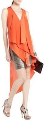 BCBGMAXAZRIA Cyprien Asymmetrical Tunic Dress