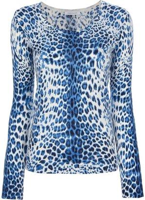 Balmain Pierre leopard print sweater