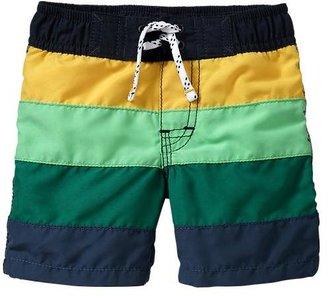 Gap Multi-color striped swim trunks