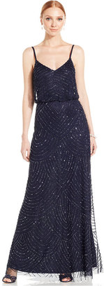 Adrianna Papell Beaded Blouson Gown $260 thestylecure.com