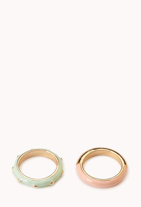 Forever 21 Yin-and-Yang Ring Set