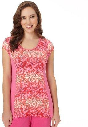 Jockey pajamas: modern brenda floral pajama top - women's