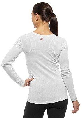 Reebok CrossFit Tri-Blend Long Sleeve Tee