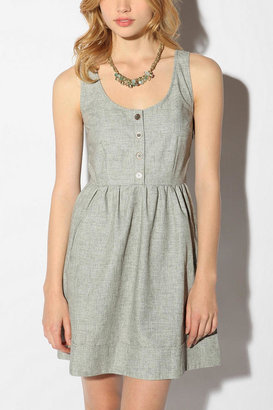 Urban Outfitters COPE Linen Chambray Dress