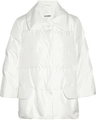 Jil Sander Padded swing coat