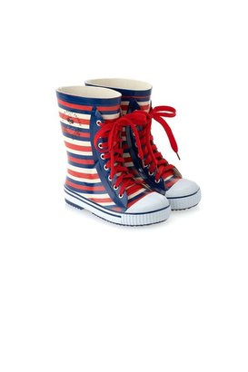 Little Marc Jacobs Striped Rainboots sizes 28 - 35