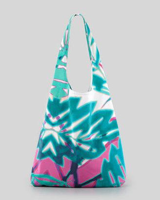 Twelfth St. By Cynthia Vincent Summer Leaf Shopper Bag