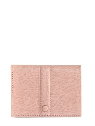Giorgio Armani Textured Leather Coin Pocket Wallet